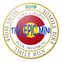 Fort Collins CO Epic Mini Pool Triathlon Swim Bike Run