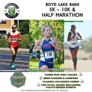 Boyd Lake Bash Multisport Festival Runs Half Marathon