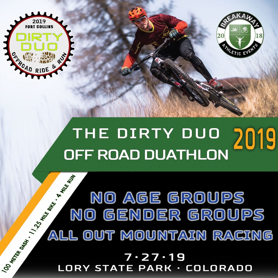 Dirty Duo Off Road Duathlon Breakaway Athletic Events Lory State Park Colorado
