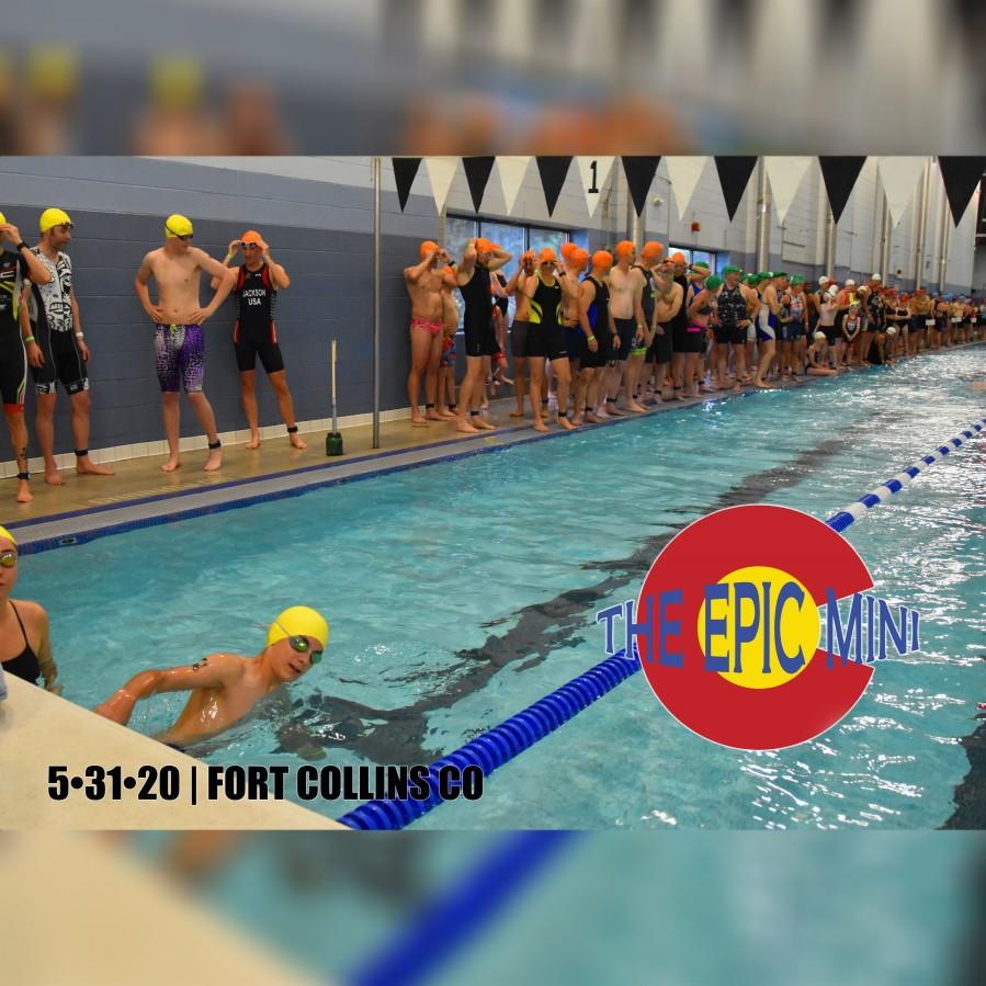 The Epic Mini Triathlon - Fort Collins Colorado 5-31-2020 - Beginner Friendly Triathlon