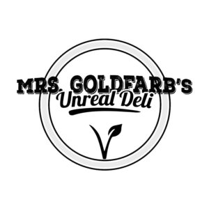 Breakaway Athletic Events Sponsors - Mrs. Goldfarb's Unreal Deli - Vegan Corned Beef as Seen On Shark Tank